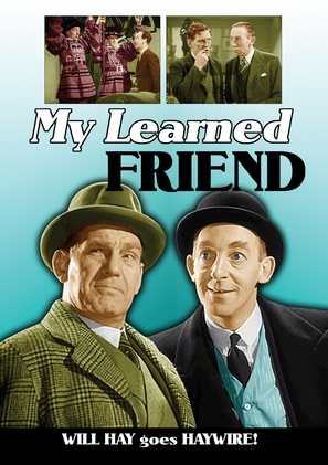 My Learned Friend - DVD movie cover (thumbnail)