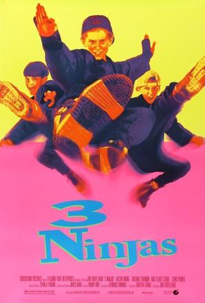 3 Ninjas - Movie Poster (thumbnail)