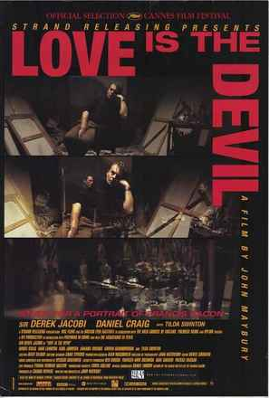 Love Is the Devil: Study for a Portrait of Francis Bacon - Movie Poster (thumbnail)