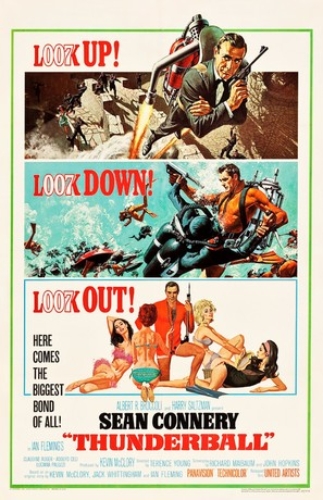 Thunderball - Movie Poster (thumbnail)