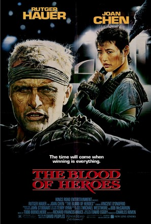 The Blood of Heroes - Movie Poster (thumbnail)