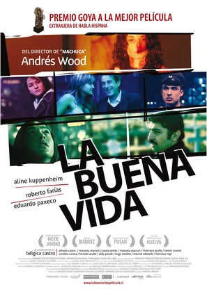 La buena vida - Spanish Movie Poster (thumbnail)