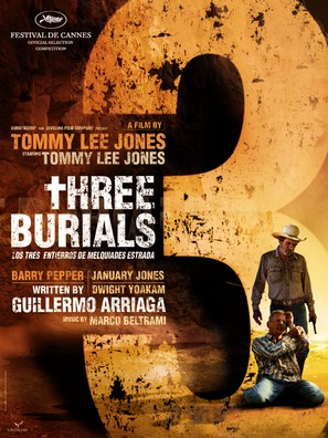 The Three Burials of Melquiades Estrada - Movie Poster (thumbnail)
