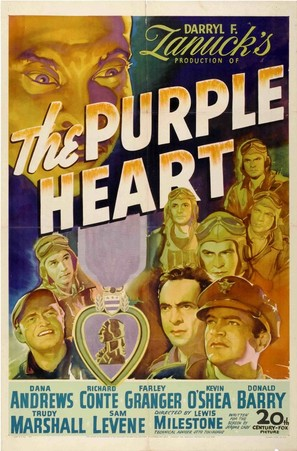 The Purple Heart - Movie Poster (thumbnail)
