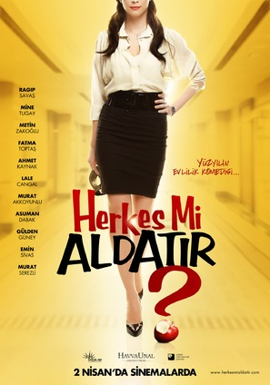 Herkes mi aldatir? - Turkish Movie Poster (thumbnail)