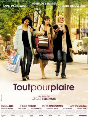Tout pour plaire - French Movie Poster (thumbnail)