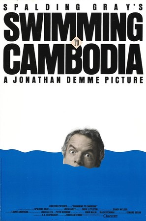 Swimming to Cambodia - Movie Poster (thumbnail)