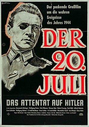 20. Juli, Der - German Movie Poster (thumbnail)