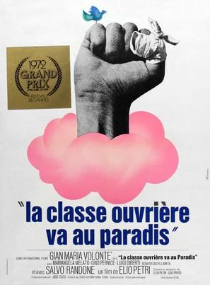 Classe operaia va in paradiso, La - French Movie Poster (thumbnail)