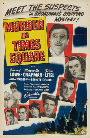 Murder in Times Square - Movie Poster (thumbnail)