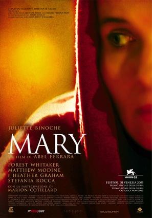 Mary - Italian Movie Poster (thumbnail)