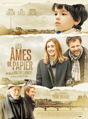 Les âmes de papier - French Movie Poster (thumbnail)