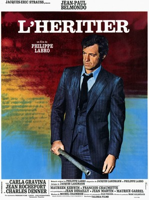 L'héritier - French Movie Poster (thumbnail)