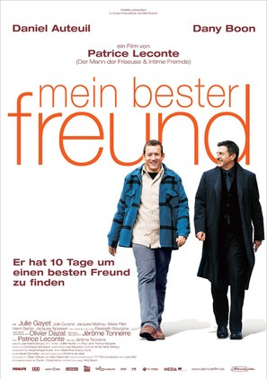 Mon meilleur ami - German Movie Poster (thumbnail)