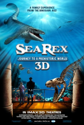 Sea Rex 3D: Journey to a Prehistoric World - Movie Poster (thumbnail)