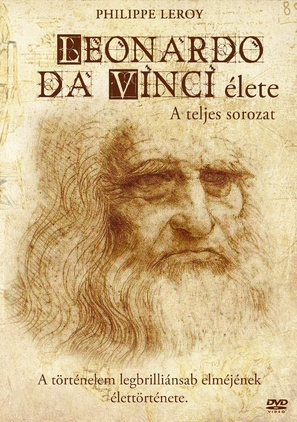 La vita di Leonardo Da Vinci - Hungarian Movie Cover (thumbnail)