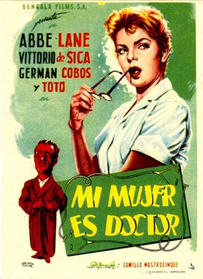 Totò, Vittorio e la dottoressa - Spanish Movie Poster (thumbnail)
