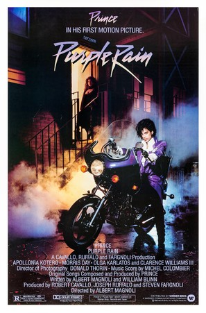 Purple Rain - Movie Poster (thumbnail)