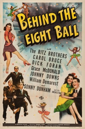 Behind the Eight Ball - Movie Poster (thumbnail)