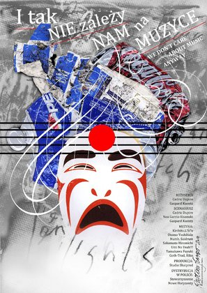 We Don't Care About Music Anyway - Polish Movie Poster (thumbnail)