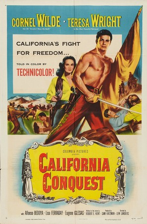 California Conquest - Theatrical poster (thumbnail)