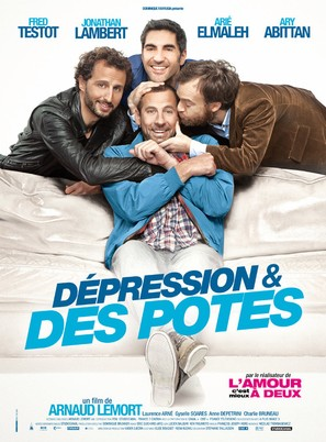 Dépression & des potes - French Movie Poster (thumbnail)