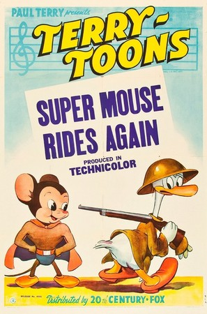 Super Mouse Rides Again - Movie Poster (thumbnail)