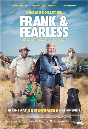 Frank & Fearless - South African Movie Poster (thumbnail)