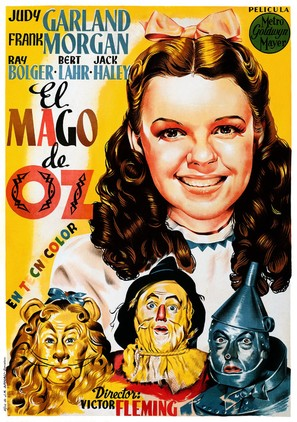 The Wizard of Oz - Spanish Re-release movie poster (thumbnail)