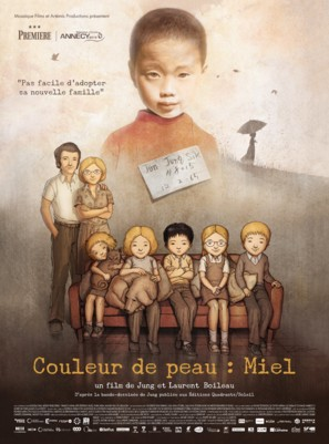 Couleur de peau: Miel - French Movie Poster (thumbnail)