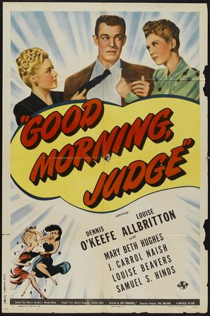 Good Morning, Judge - Movie Poster (thumbnail)