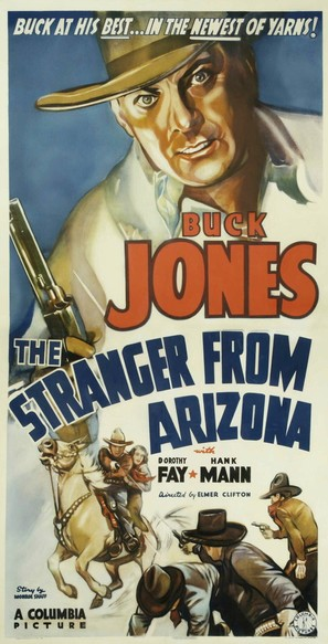 The Stranger from Arizona - Movie Poster (thumbnail)