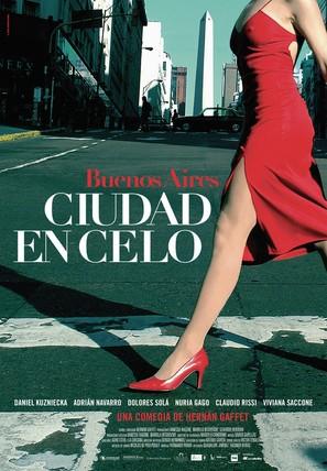 Ciudad en celo - Spanish Movie Poster (thumbnail)