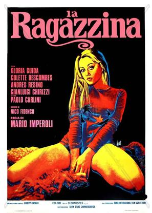La ragazzina - Italian Movie Poster (thumbnail)