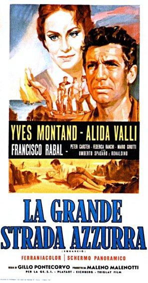 La grande strada azzurra - Italian Movie Poster (thumbnail)