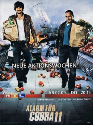 """Alarm für Cobra 11 - Die Autobahnpolizei"" - German Movie Poster (thumbnail)"