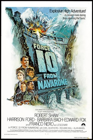 Force 10 From Navarone - Movie Poster (thumbnail)