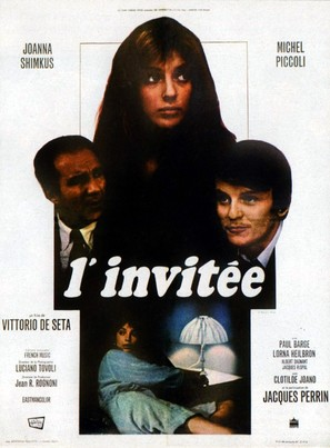 L'invitata - French Movie Poster (thumbnail)