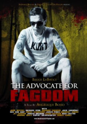 The Advocate for Fagdom - German Movie Poster (thumbnail)