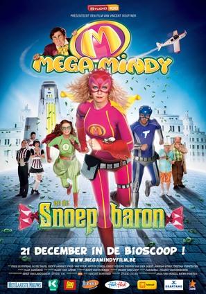 Mega Mindy en de Snoepbaron - Belgian Movie Poster (thumbnail)