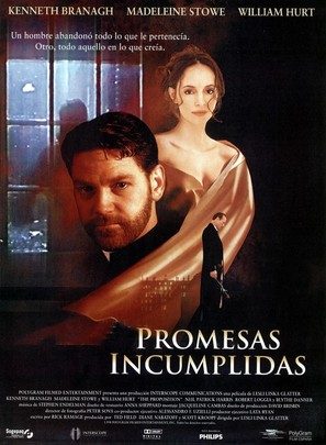 The Proposition - Spanish Movie Poster (thumbnail)