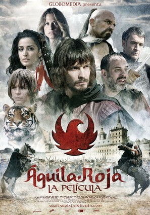 Águila roja, la película - Spanish Movie Poster (thumbnail)