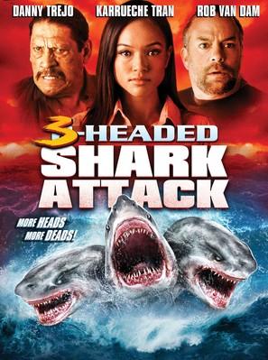 3 Headed Shark Attack - Movie Cover (thumbnail)