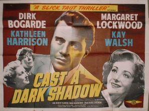 Cast a Dark Shadow - British Movie Poster (thumbnail)