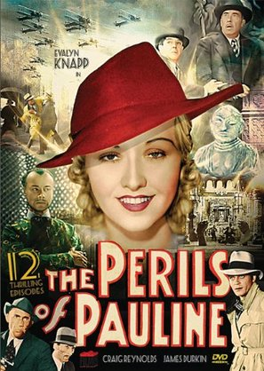 The Perils of Pauline - DVD movie cover (thumbnail)