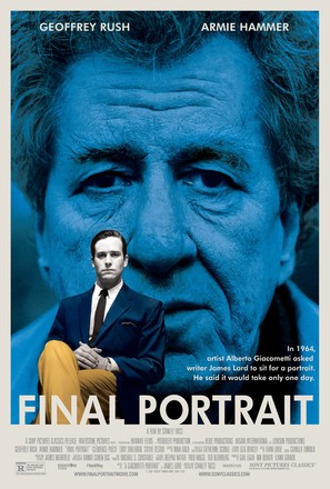 Final Portrait - Movie Poster (thumbnail)