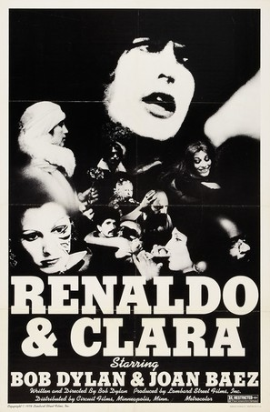 Renaldo and Clara - Movie Poster (thumbnail)