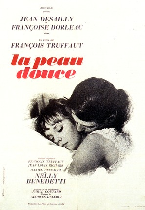 La peau douce - French Movie Poster (thumbnail)