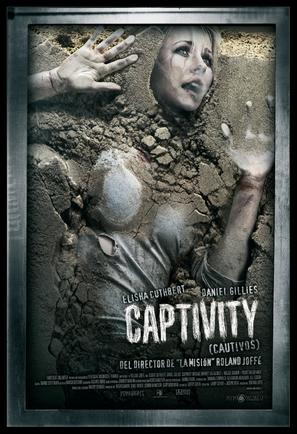 Captivity - Spanish Movie Poster (thumbnail)