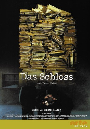 Das Schloß - German DVD cover (thumbnail)